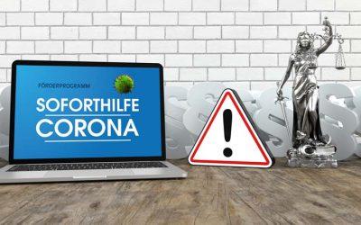 Unpfändbare Hilfe: Staatliche Soforthilfe wegen Corona unantastbar