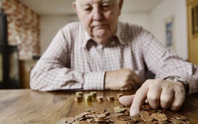 Weniger Altersarmut. Grund: Rente