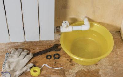 Teure Leitungswasserschäden: Jeder Tropfen zählt