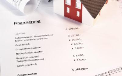 Baugeld – günstig und begehrt: Fallstricke bei der Baufinanzierung